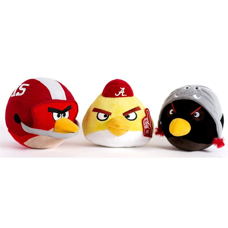Alabama Crimson Tide Angry Birds Pet Dog Toy by Simon Sez