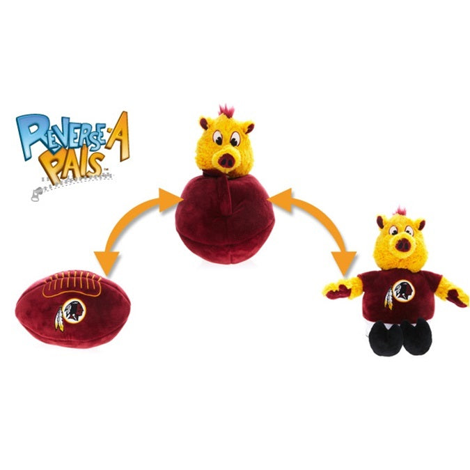 Washington Redskins Reverse-A-Pal Pet Dog Toy by Simon Sez