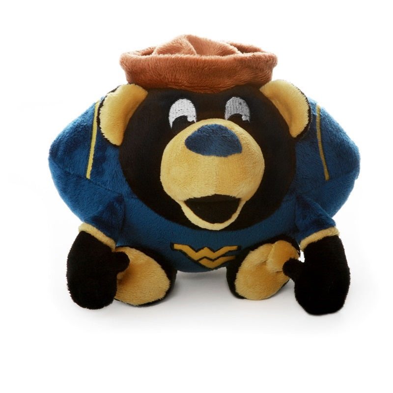 West Virginia Mountaineers Mountaineers Orbiez Pet Dog Toy by Simon Sez