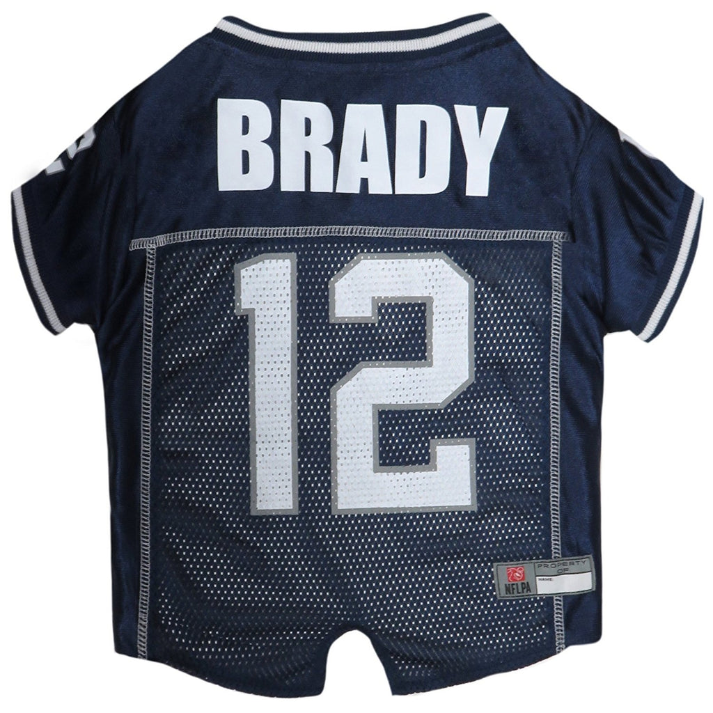 Tom Brady #12 Pet Dog Jersey by Pets First