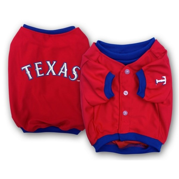 Texas Rangers Alternate Style Pet Dog Jersey by SportyK9