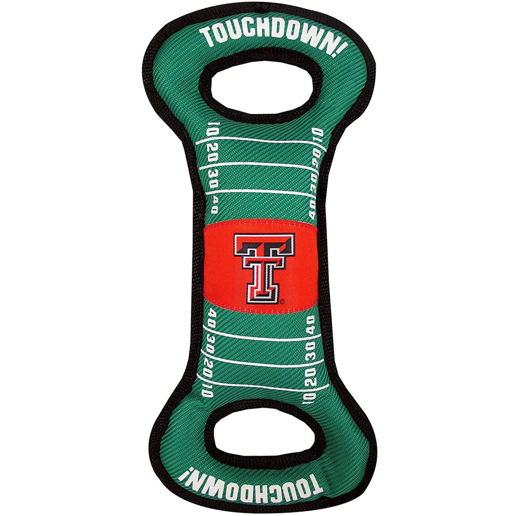 Texas Tech Red Raiders Red Raiders Field Pull Pet Dog Toy by Pets First
