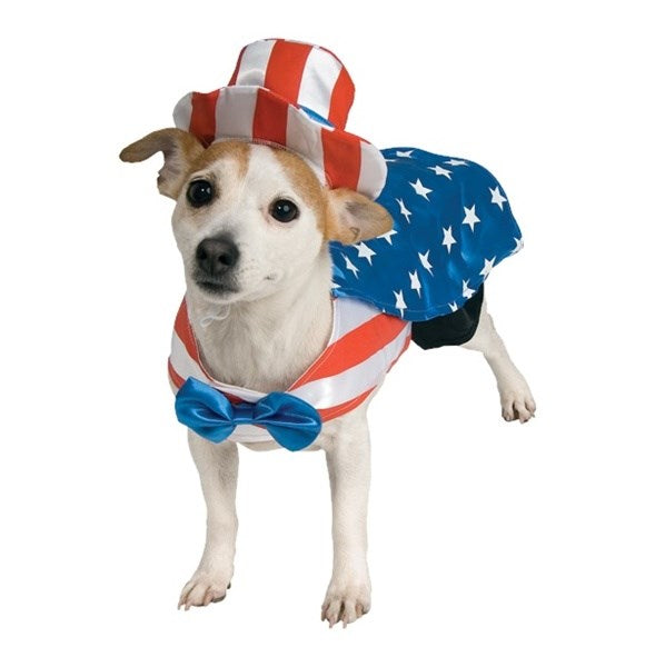 Uncle Sam Pet Dog Costume by Rubie's Costume Co