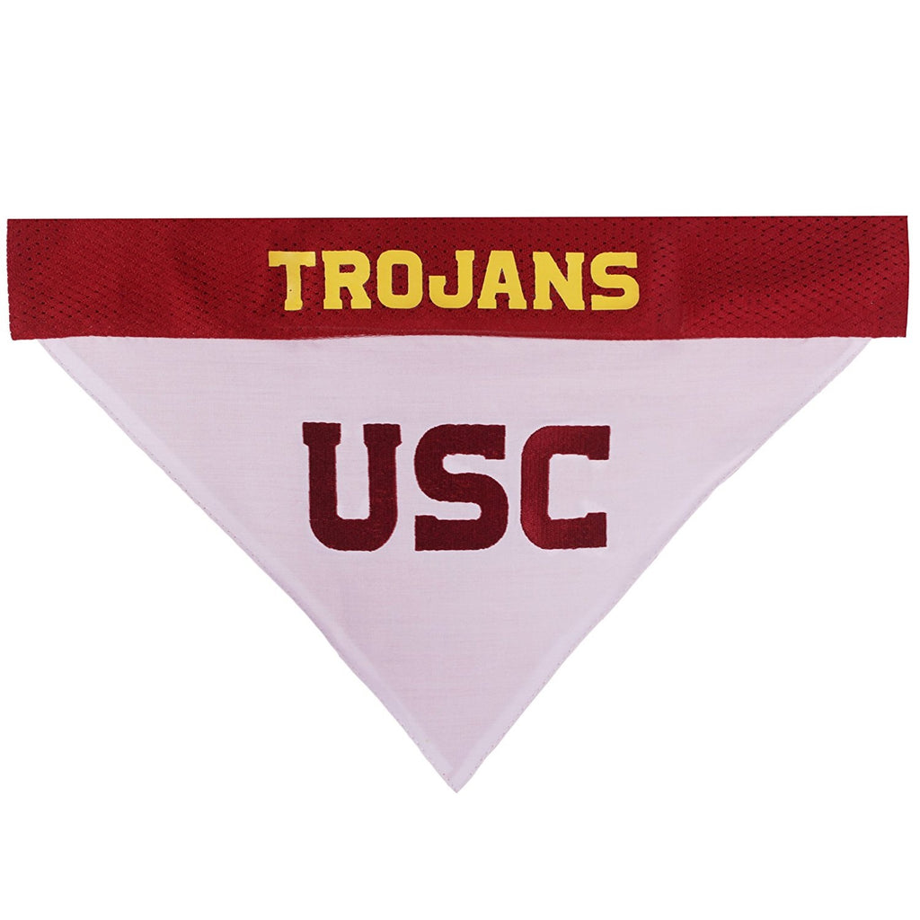 USC Trojans Pet Dog Reversible Bandana by Pets First