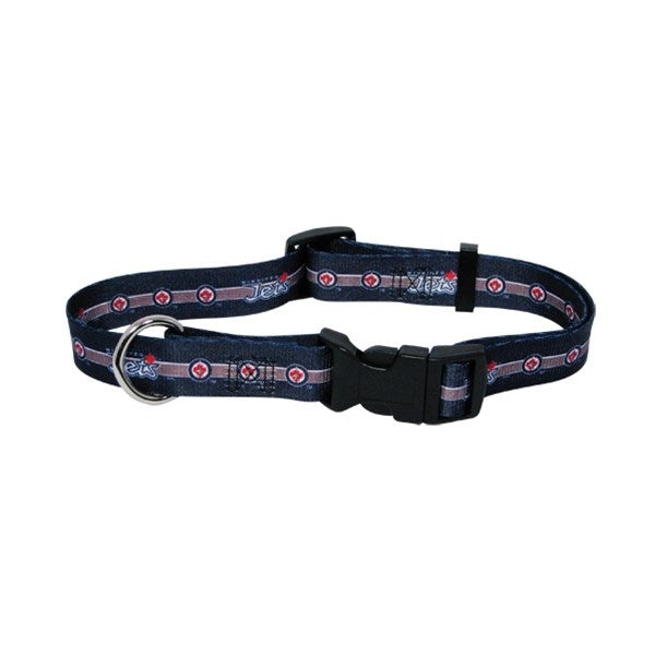 Winnipeg Jets Pet Dog Collar by Hunter