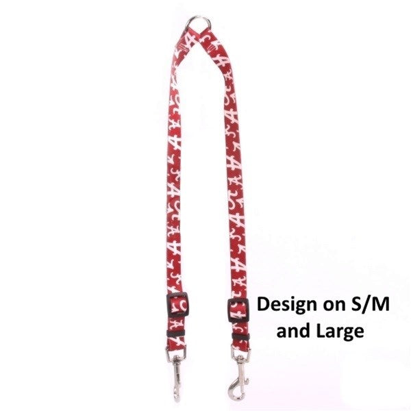 Alabama Crimson Tide Nylon 2-Way Coupler Pet Dog by Little Earth