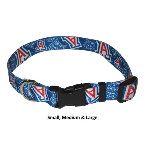 Arizona Wildcats Nylon Pet Dog Collar by Little Earth