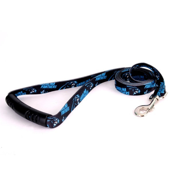 Carolina Panthers EZ Grip Nylon Pet Dog Leash by Little Earth