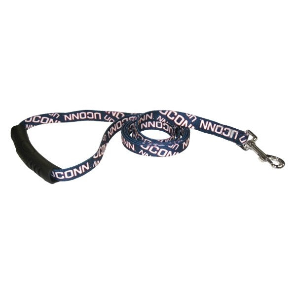 UConn Huskies EZ Grip Nylon Pet Dog Leash by Little Earth