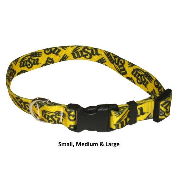 Wichita State Shockers Nylon Pet Dog Collar by Little Earth