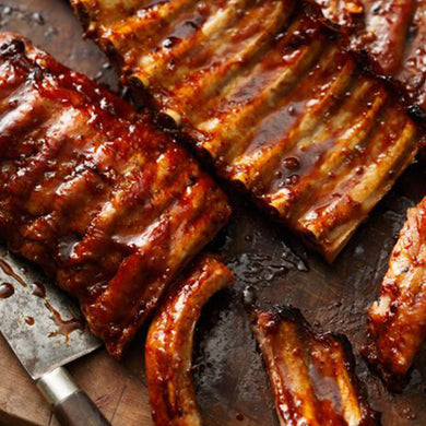 Savanna Pork Ribs Sticky Maple Single Rack ( 700-800gr)