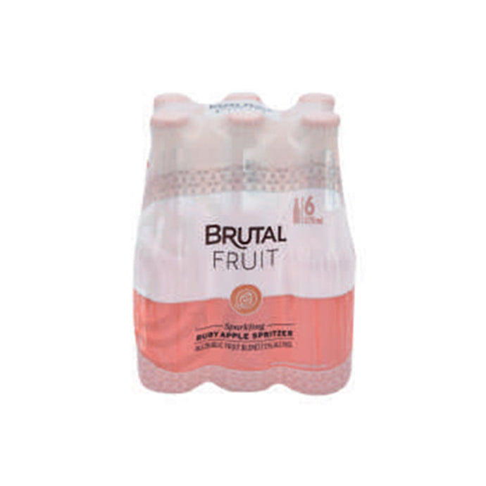 Brutal Fruit Ruby Apple Spritzer 6 Pack (BB.14.11.19)