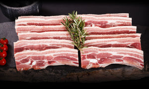 Pork Rashers Plain 500gr
