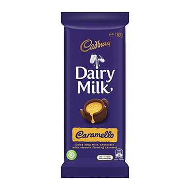 Cadbury Dairy Milk Caramello 180g (BB 05.04.2021)