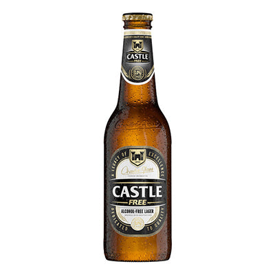 Castle Free Beer Bottle 330ml