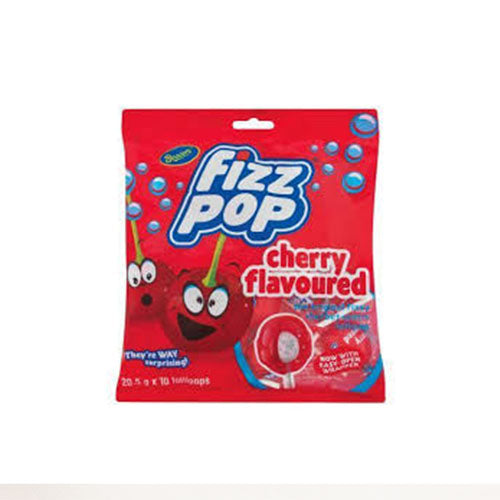 Beacon Fizz Pops Cherry 4 for £1