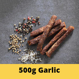 Savanna Garlic Droëwors 500g