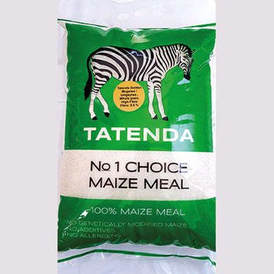 Tatenda Whole Grain Maize Meal Gold Label 2kg
