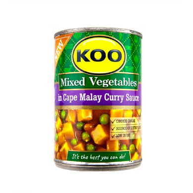 Koo Mixed Vegetables in Cape Malay 410gr