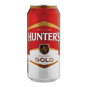 Hunters Gold Cider Can 440ml