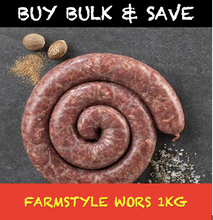 Load image into Gallery viewer, Savanna Farmstyle Boerewors 1kg Tray