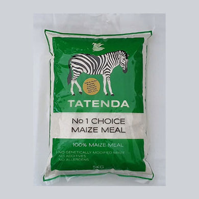 Tatenda Wholegrain Maize Meal Gold Label 5kg