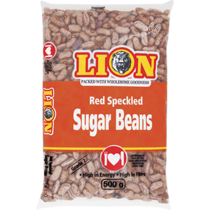 Lion Red Speckled Sugar Beans 500gr