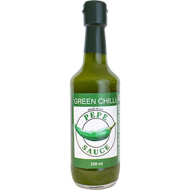 Pepes Sauces Green Chilli 250ml