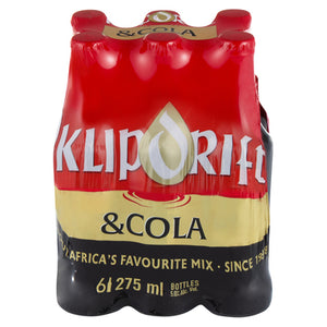Klipdrift and Cola 6 Pack