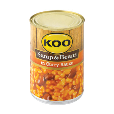 Koo Samp & Beans in Curry Sauce 410gr