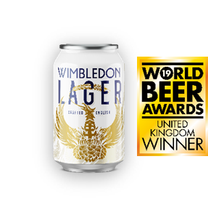 Load image into Gallery viewer, Wimbledon Lager 330ml