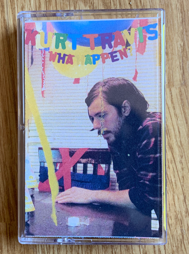 Kurt Travis Wha Happen? laser etched yellow cassette tape