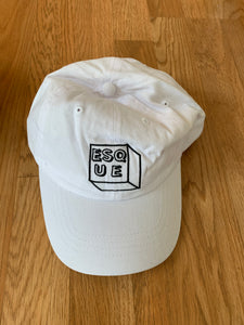 Esque Recs Dad Hat ( White)