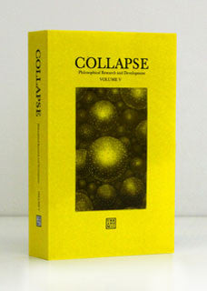Collapse Volume V: The Copernican Imperative