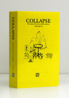 Collapse Volume VII: Culinary Materialism