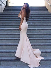 onlybridals Simple  Long Prom Dress Sweetheart Mermaid Prom Dress/Evening Dress - onlybridals