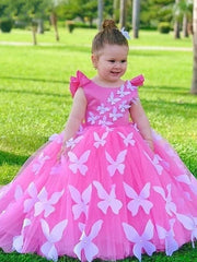 onlybridals Evening Gowns Ball Gown Flower Girl Dresses For Weddings First Communion Dresses For Girls - onlybridals