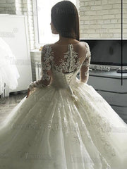 Onlybridals Vestido De Noiva Bridal Gowns With Lace Appliques Robe De Mariage Wedding Dresse