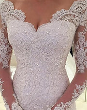 Only bridals Long Wedding Dress Lace Beading Wedding DressSexy V-Back Bridal Dress