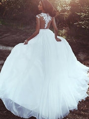 onlybridals Lace Beach Wedding Dresses A-Line Appliques Sexy High  Wedding Gown Bridal Dresses - onlybridals