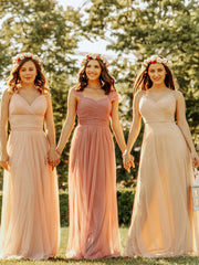 onlybridals Cute sweetheart neck tulle prom dress tulle bridesmaid dress