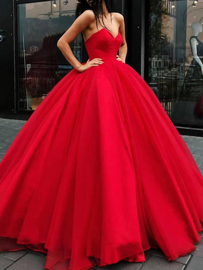 onlybridals Black Prom Dresses 2019 Ball Gown Sweetheart Long Evening Dress Saudi Arabic Women Formal Prom Party Gown - onlybridals