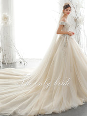 onlybridals 2020 New Arrivals Gorgeous  Beading Lace Wedding Dress - onlybridals