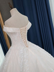 Quality Vestido De Noiva Lace Ball Gown Wedding Dresses 2020 Long Train Custom Made Wedding Gowns Bridal Dress