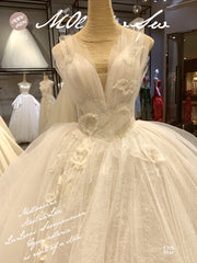 Stunning Lace Wedding Dress 2019 Princess Wedding Ball Gown - onlybridals