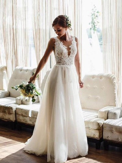 Simple Mermaid Wedding Dresses With Detachable Train Spaghetti Backless Beach Country Summer Bridal Gowns
