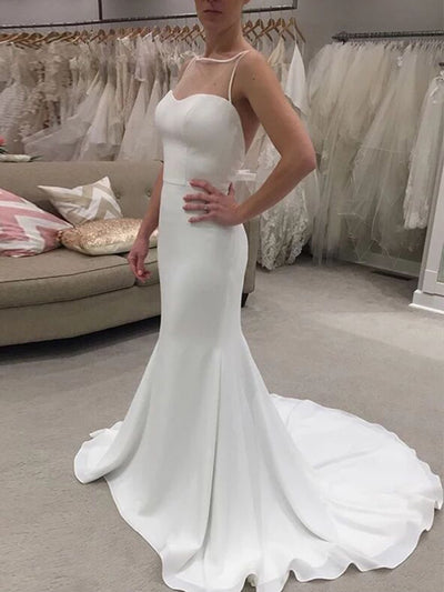Strap vestido de novia robe de mariee wedding dresses платье wedding party mermaid wedding gowns свадебные платья bride to be