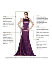 V-neck Spaghetti Straps Backless Long Prom Dresses