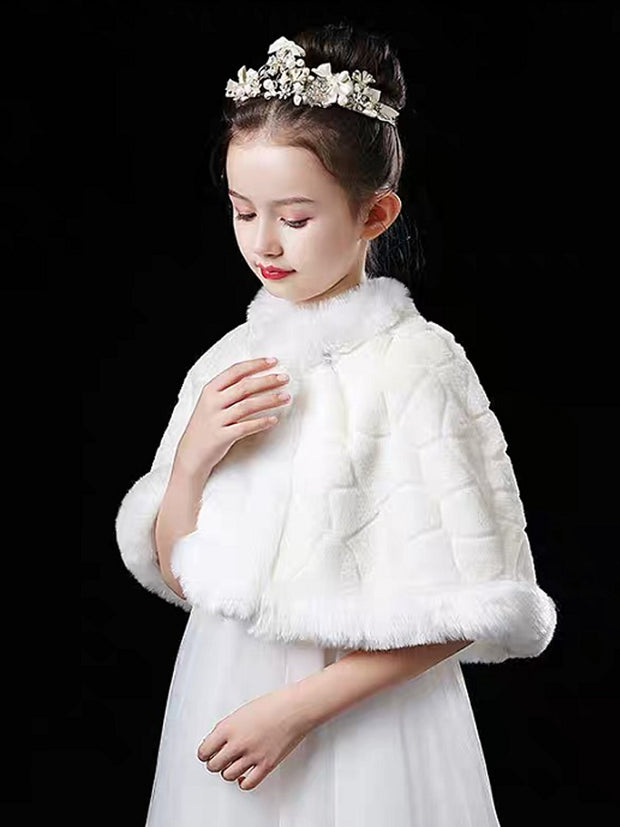 2020 winter children's dress wool shawl fashionable and warm