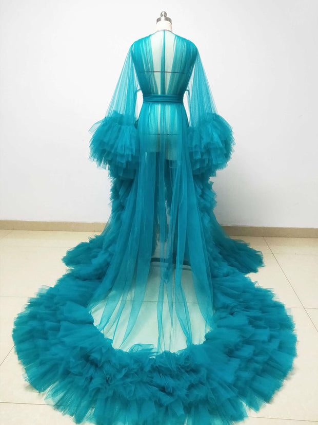 onlybridals Pregnant women photography dress wedding banquet bathrobe photography dress custom color